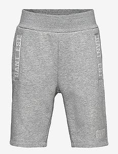 D1. GANT EST SWEAT SHORTS - shorts - light grey melange