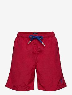 BOY'S BASIC SWIM SHORTS - badebukser - bright red