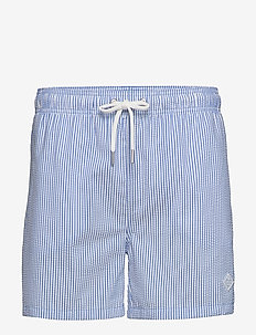 SEERSUCKER SWIM SHORTS CF - shorts - nautical blue