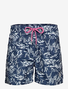 RIVIERA VIEW SWIM SHORTS CF - INSIGNIA BLUE