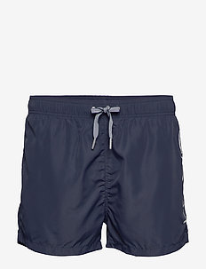 LOGO SWIM SHORTS LIGHTWEIGHT - shorts - marine