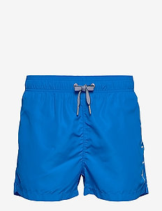 LOGO SWIM SHORTS LIGHTWEIGHT - shorts - nautical blue