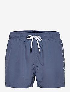 SC LIGHTWEIGHT LOGO SWIM SHORTS - swim shorts - salty sea