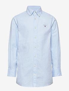 ARCHIVE OXFORD B.D SHIRT - skjortor - capri blue