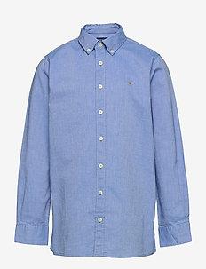 ARCHIVE OXFORD B.D SHIRT - shirts - clear blue