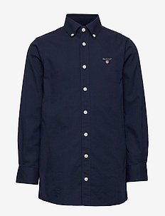 ARCHIVE OXFORD B.D SHIRT - shirts - evening blue