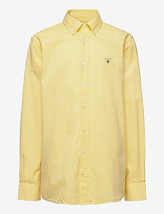 ARCHIVE OXFORD B.D SHIRT - shirts - lemon