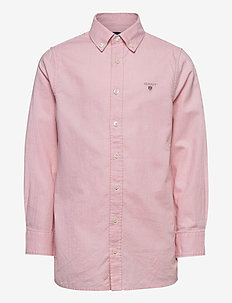 ARCHIVE OXFORD B.D SHIRT - paidat - preppy pink