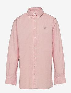 ARCHIVE OXFORD B.D SHIRT - shirts - quartz pink