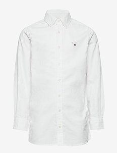 ARCHIVE OXFORD B.D SHIRT - shirts - white