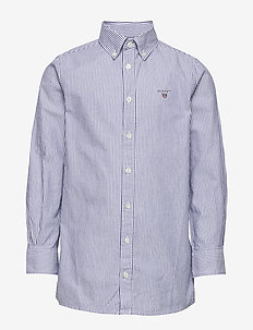 ARCHIVE OXFORD STRIPE BD SHIRT - paidat - college blue
