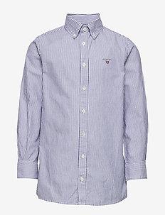 ARCHIVE OXFORD STRIPE BD SHIRT - skjorter - college blue