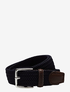 ELASTIC BRAID BELT - braided belts - marine
