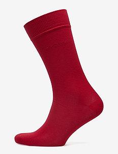 SOFT COTTON SOCKS - regular socks - red