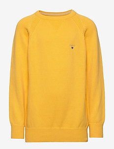 CASUAL COTTON C-NECK - MIMOSA YELLOW