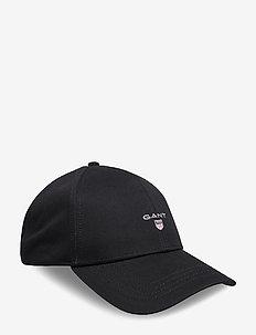 HIGH COTTON TWILL CAP - czapki - black