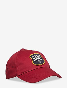 D1. ON THE ROAD TWILL CAP - MAHOGNY RED