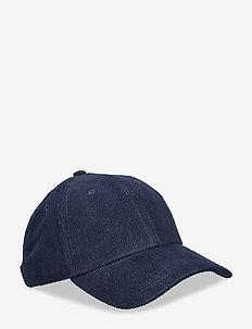 D1. CORDUROY CAP - MARINE