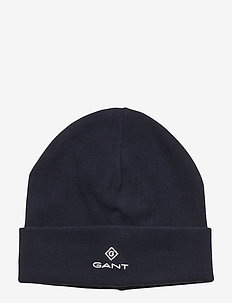 D1. GANT LOCK -UP JERSEY BEANIE - hoed - evening blue