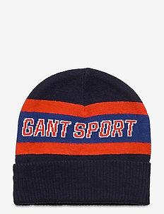 D1. GANT SPORT BEANIE - hats - evening blue