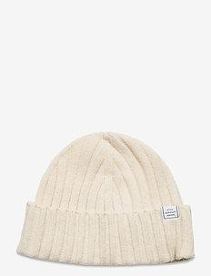 D1. FISHERMANS BEANIE - bonnet - cream