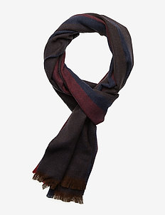 D1. STRIPED WOOL SCARF - JAVA