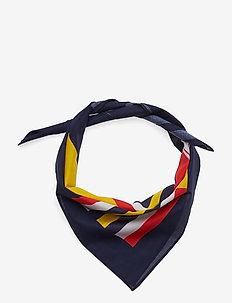 D1. RW BANDANA - scarves - classic blue