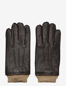 LEATHER GLOVES - hansker - java