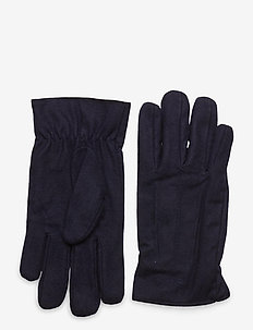 MELTON GLOVES - handskar - classic blue