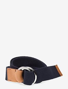 D1. GANT WEBBING BELT - evening blue