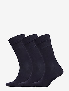 3-PACK WOOL SOCKS - MARINE