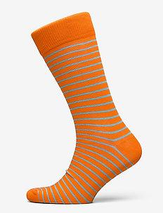 D1. 1  PACK STRIPED SOCK - vanliga strumpor - arancia