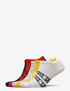D1. 5-PACK GANT SNEAKER SOCKS - strümpfe - atomic orange