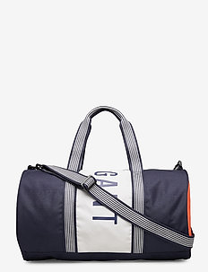 D1. COLOR BLOCKING GYM BAG - EVENING BLUE