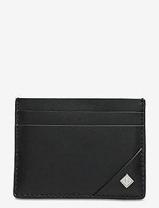 D1. LEATHER CARDHOLDER - cardholder - black