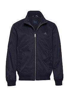 Beige Hampshire Jacket  Gant  Bomberjakke - Herreklær er billig