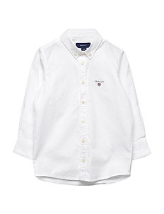 ARCHIVE OXFORD B.D. SHIRT - overhemden - white