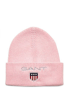 D1. MEDIUM SHIELD RIB BEANIE - mützen - preppy pink