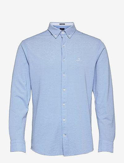 TP REG PIQUE BD - basic shirts - capri blue