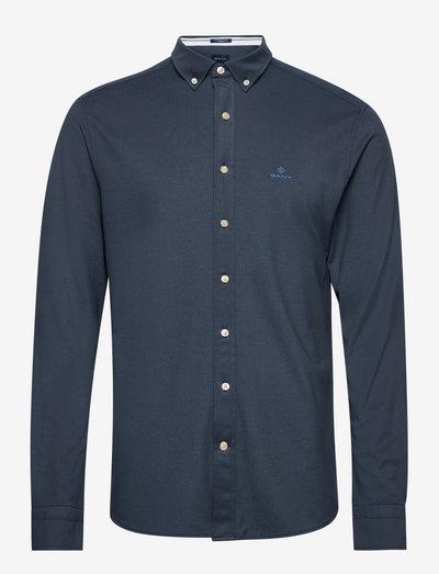 TP REG PIQUE BD - basic shirts - marine