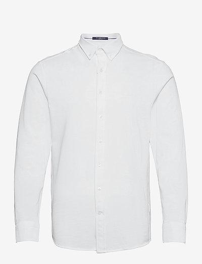 TP REG PIQUE BD - basic shirts - white