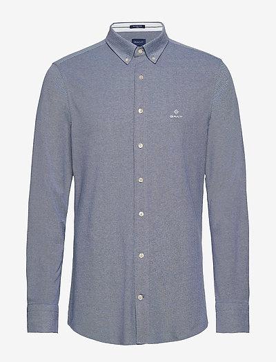 TP SLIM PIQUE BD - basic shirts - persian blue