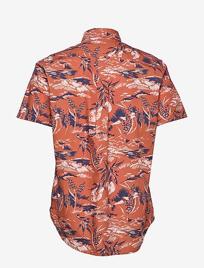 Gant D2. Riviera View Print Reg Bd Ss- Hemden