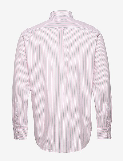 Gant D1. Wb Oxford Stripe Reg Bd- Koszule Rapture Rose