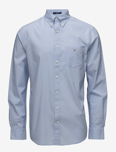 REG BROADCLOTH BD - oxford shirts - hamptons blue