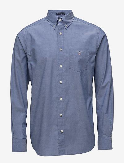 REG BROADCLOTH BD - chemises oxford use default - college blue