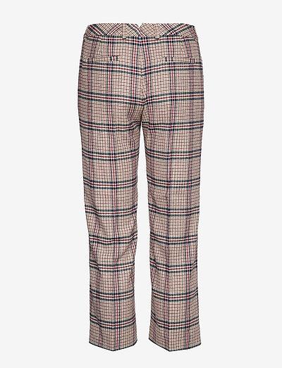 Gant D1. Washable Slim Slouch Pant- Spodnie Warm Khaki