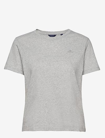 ORIGINAL SS T-SHIRT - t-shirts - light grey melange