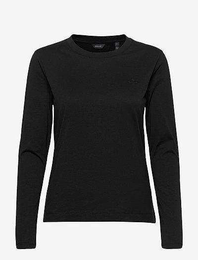 ORIGINAL LS T-SHIRT - long-sleeved tops - black