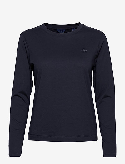 ORIGINAL LS T-SHIRT - long-sleeved tops - evening blue